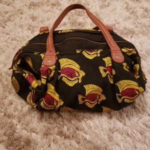 Jasper and Jeera fish hand bag